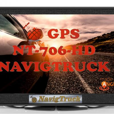 GPS NT706HD Truck - Pack Luxe