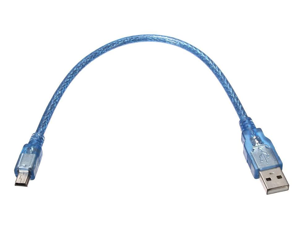 Cable usb bleu