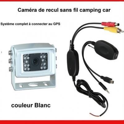 Caméra de Recul sans fil blanche ou noire