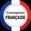 Logo conception francaise 100x100