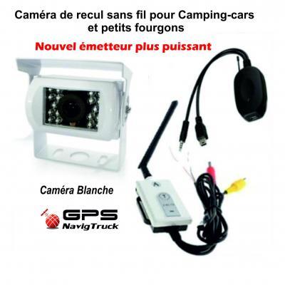 Caméra de Recul sans fil - Blanche ou Noire